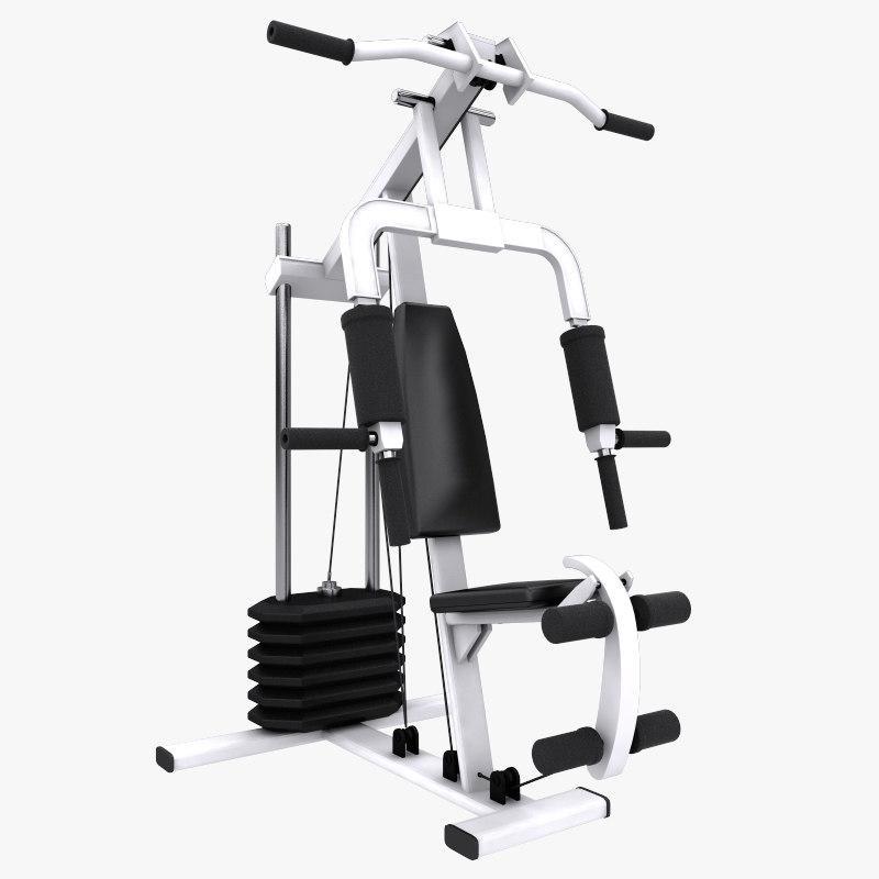 3ds max multi gym