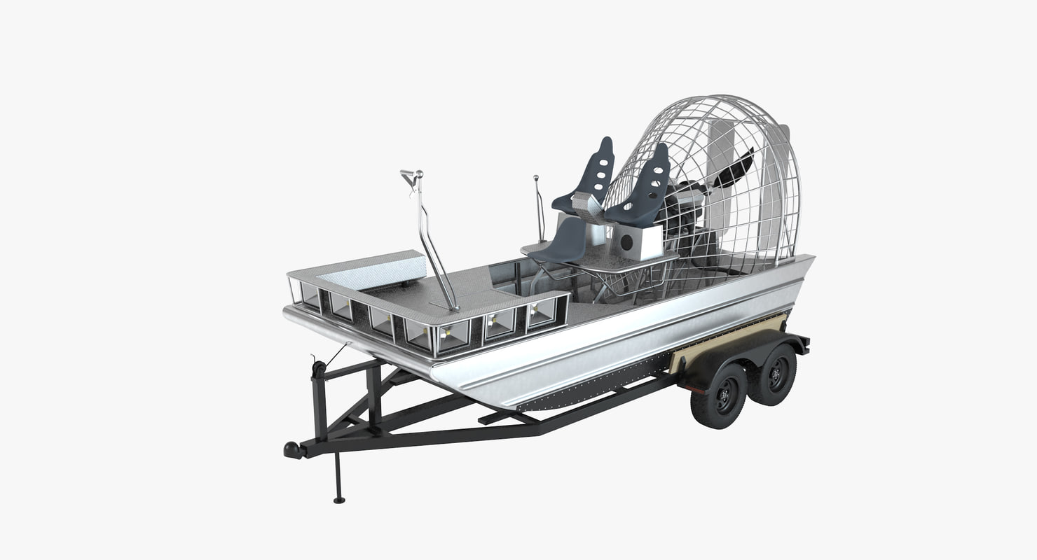 AirBoat & Trailer