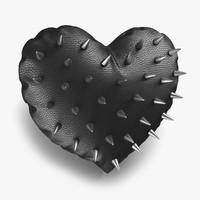 heart pillow 3D models