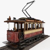 tram 3D models