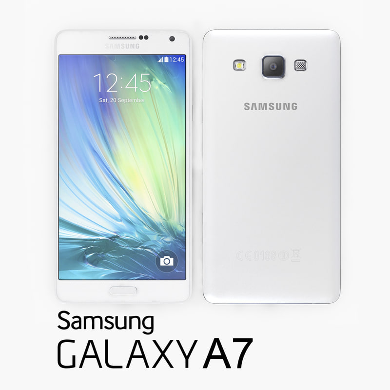 Samsung Galaxy A7 White