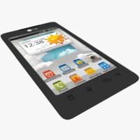 LG Optimus 3D Max P720 3D models