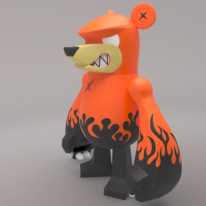 Knuckle Bear Toy