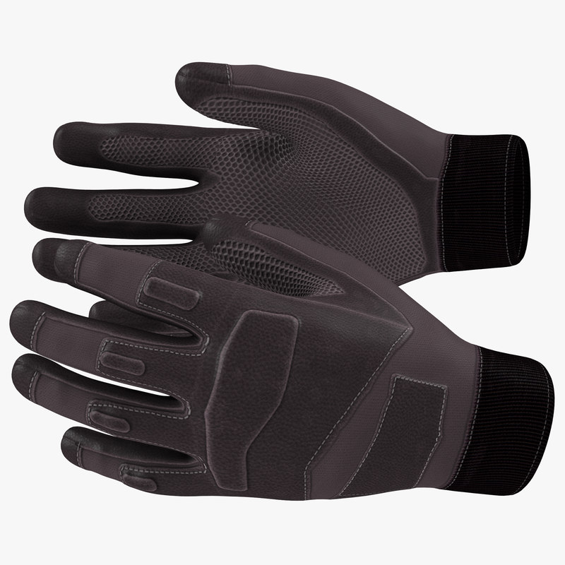 Tactical Gloves 3d model 00.jpg