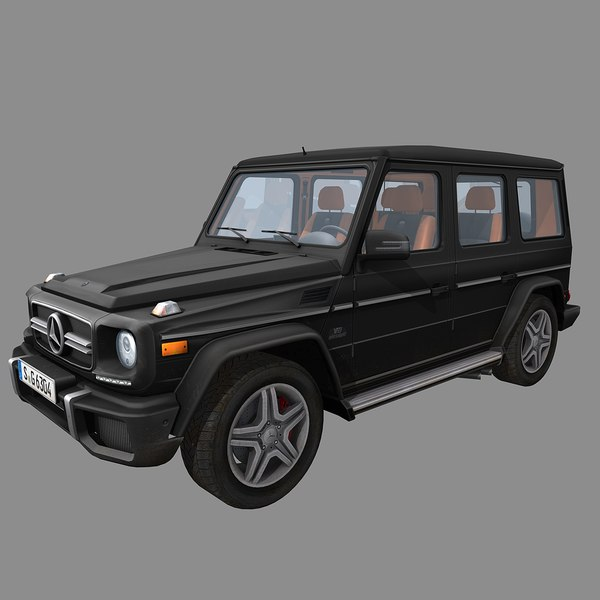 G 63 AMG (real-time) 3D Models