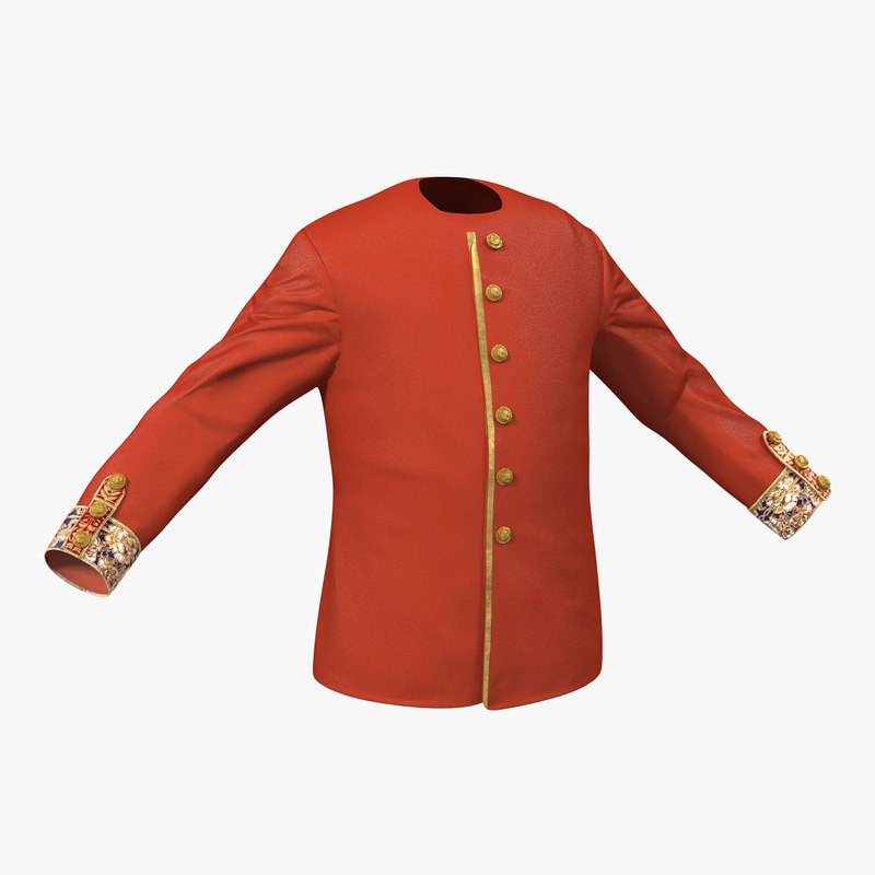 Medieval Royal Shirt 3d model 00.jpg
