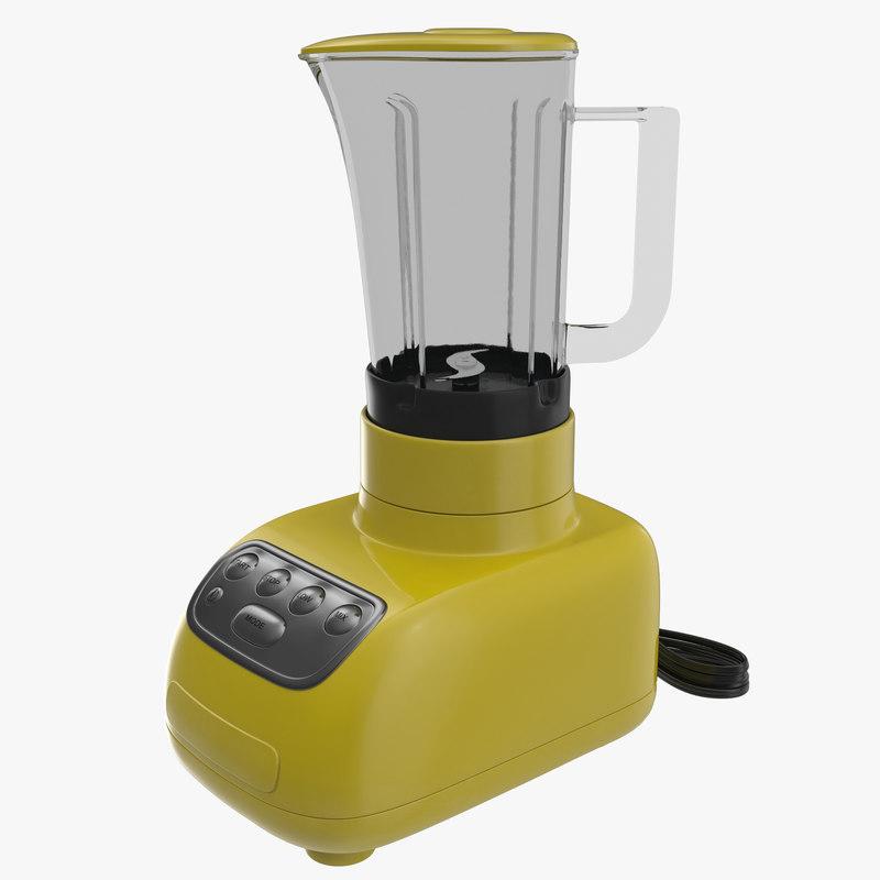 Blender Yellow 3d model 00.jpg