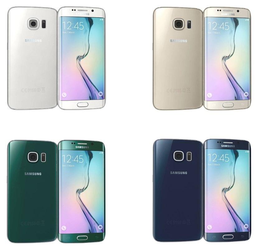 Samsung Galaxy S6 Edge All Colors
