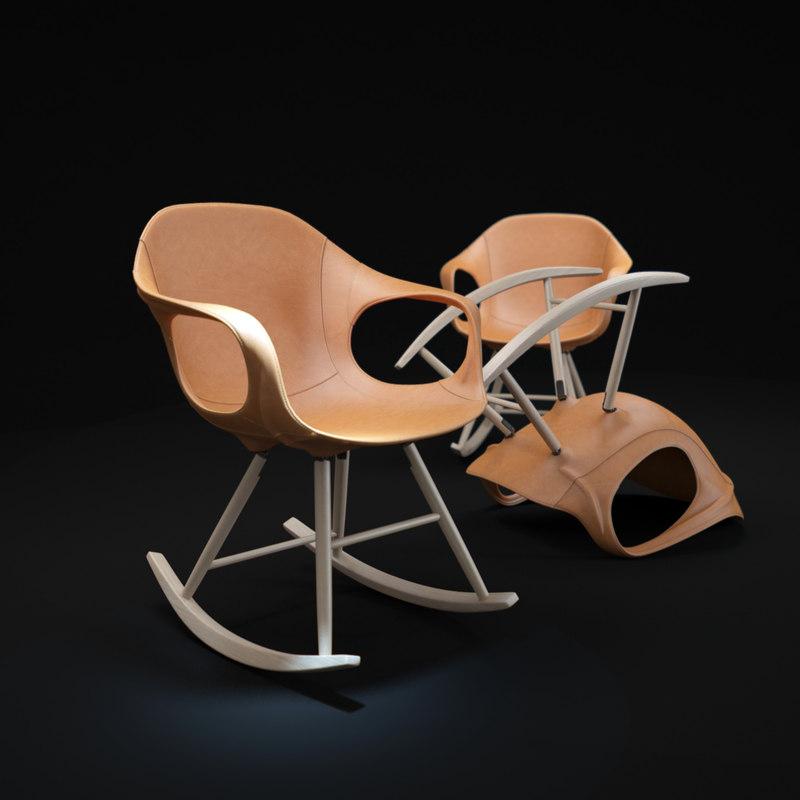 maya elephant rocking chair