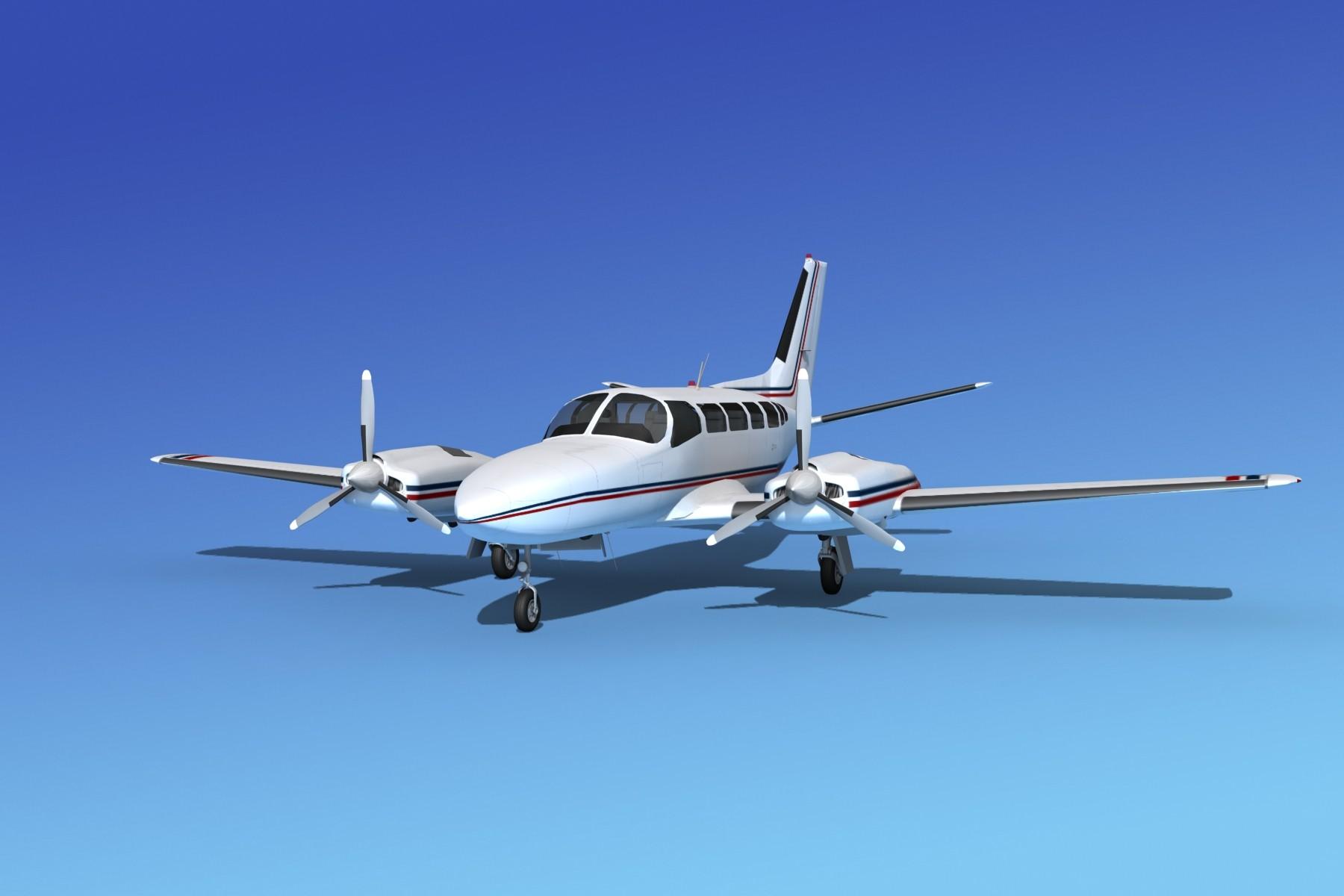 Cessna 404 Titan Corporate 1