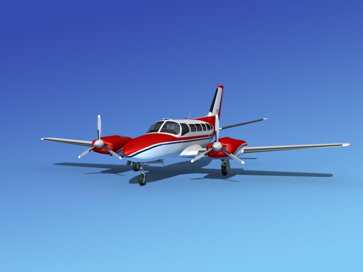 Cessna 404 Titan Courier V01