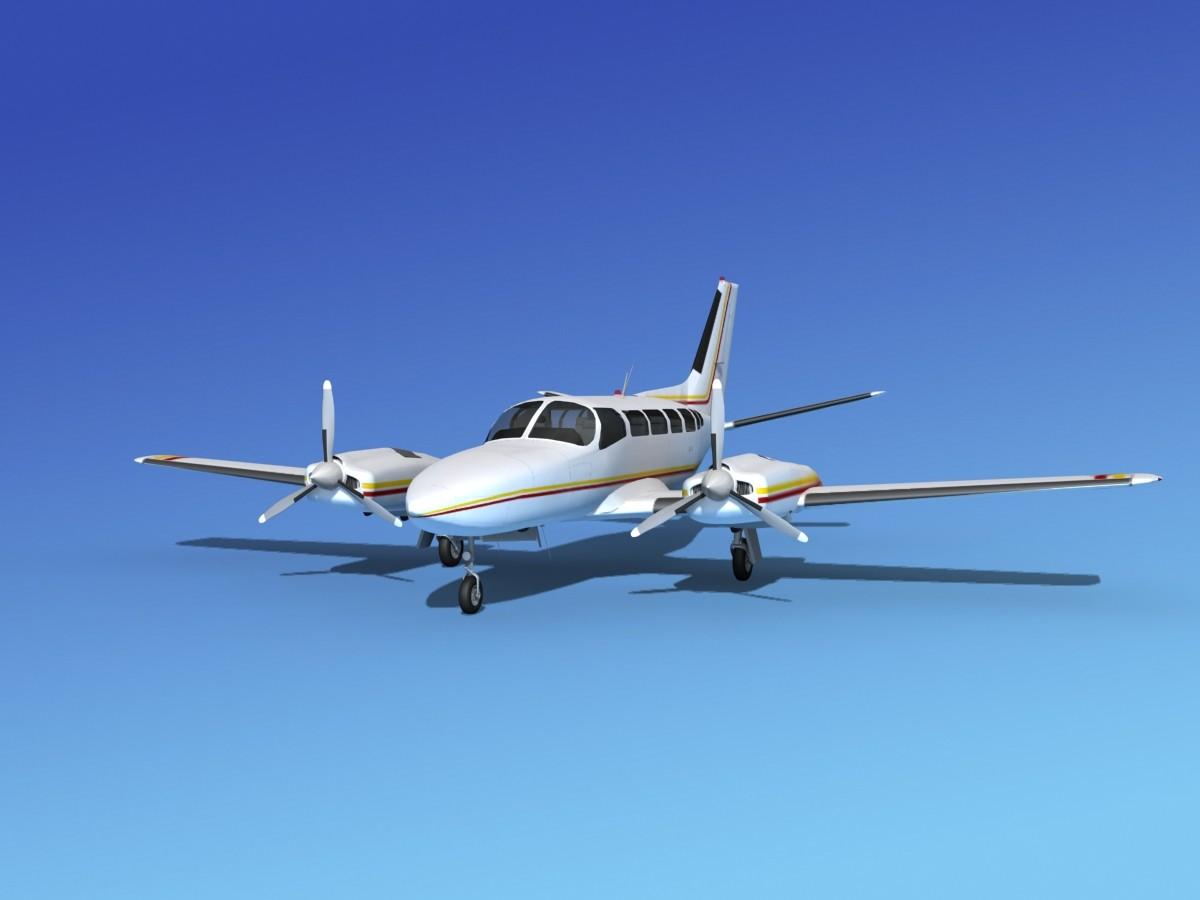 Cessna 404 Titan Courier V02