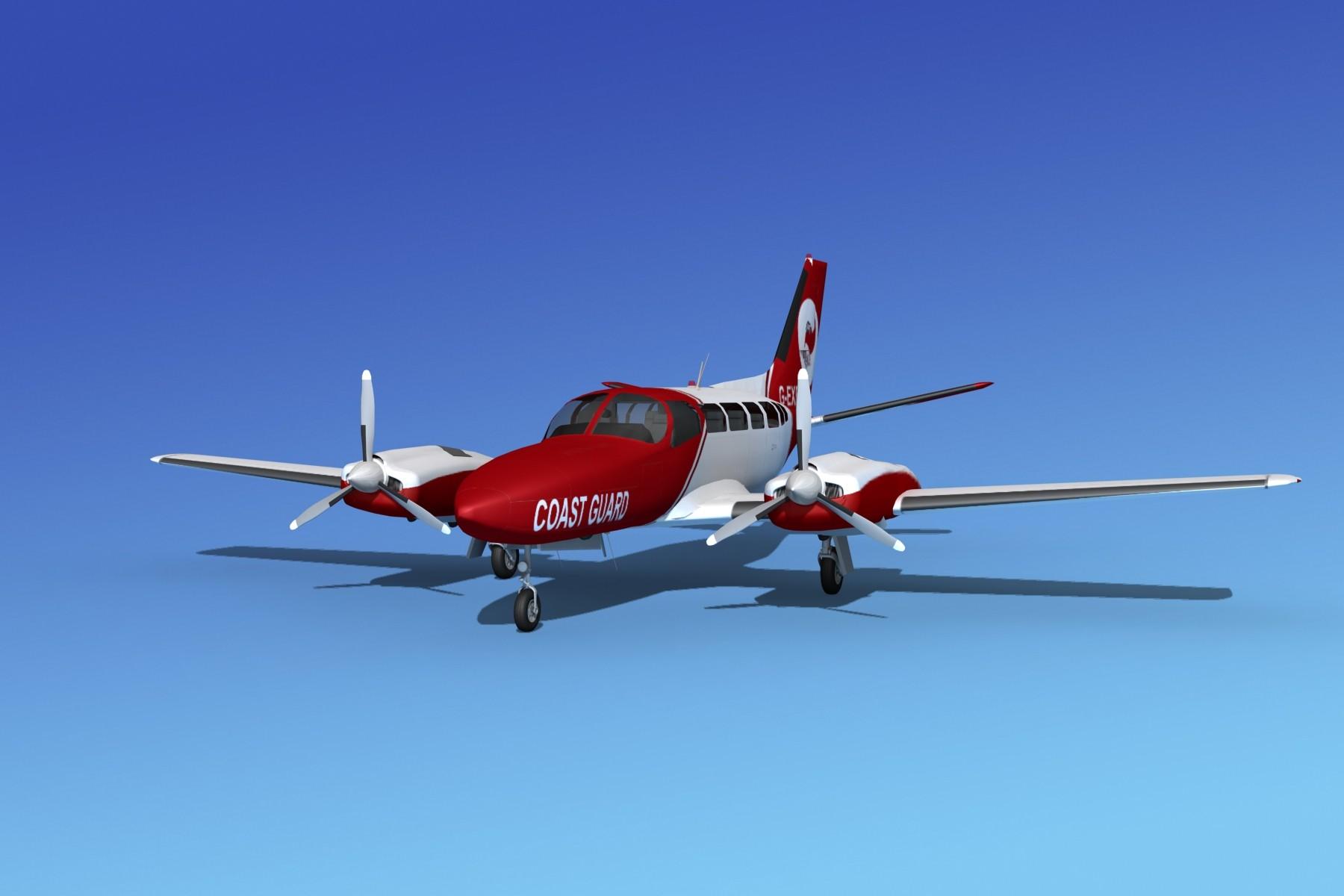 Cessna 404 Titan Coast Maritime Patrol