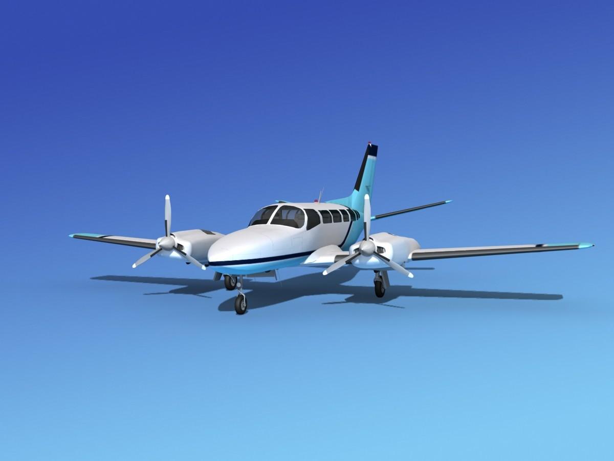 Cessna 404 Titan Courier V04
