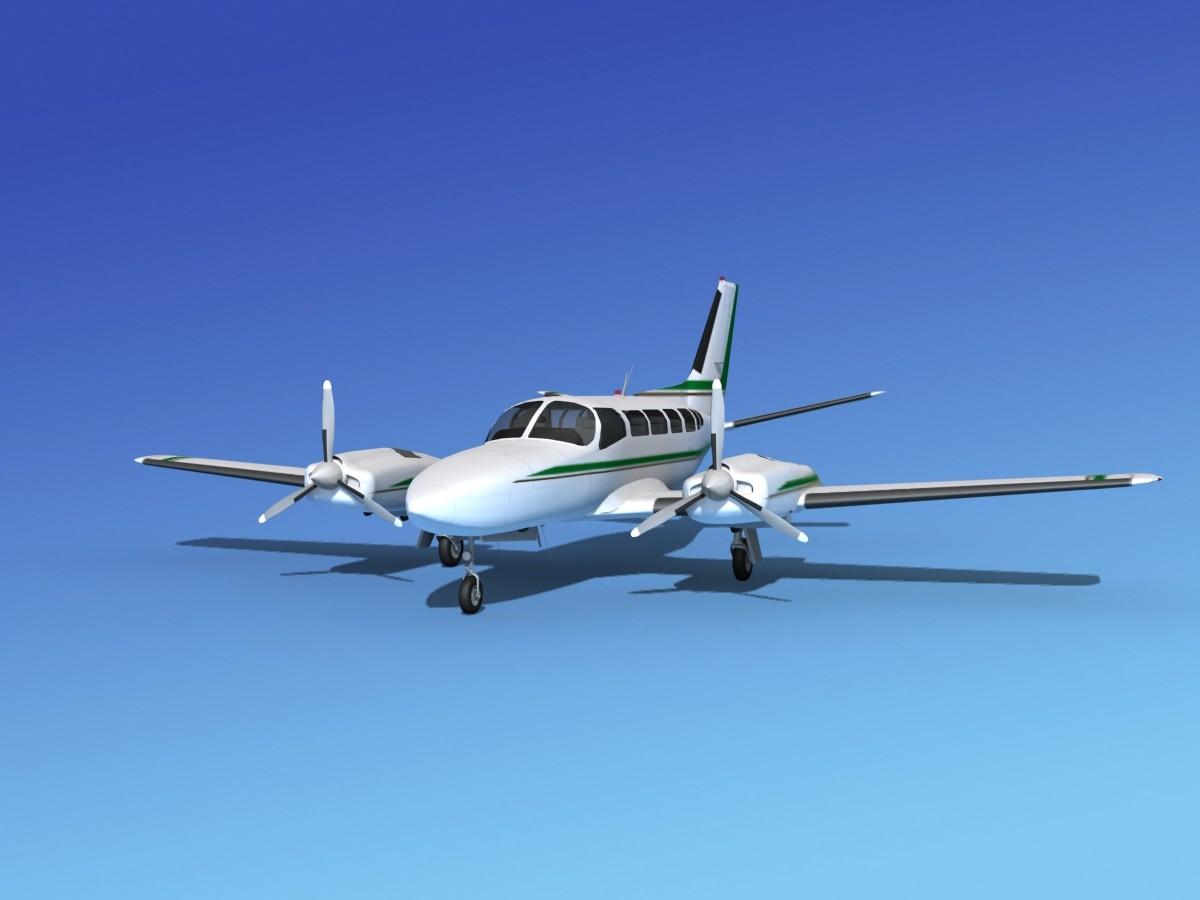 Cessna 404 Titan Courier V05