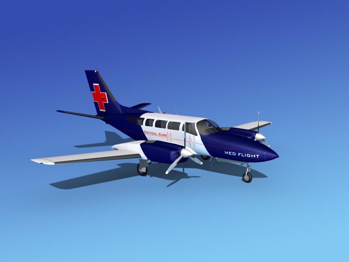 Cessna 404 Titan Med Flight