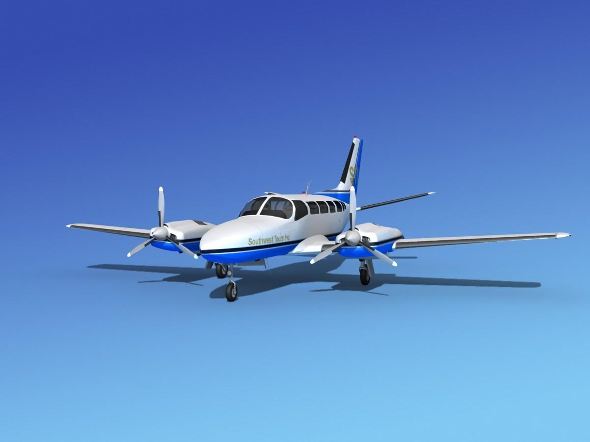 Cessna 404 Titan Southwest Tours