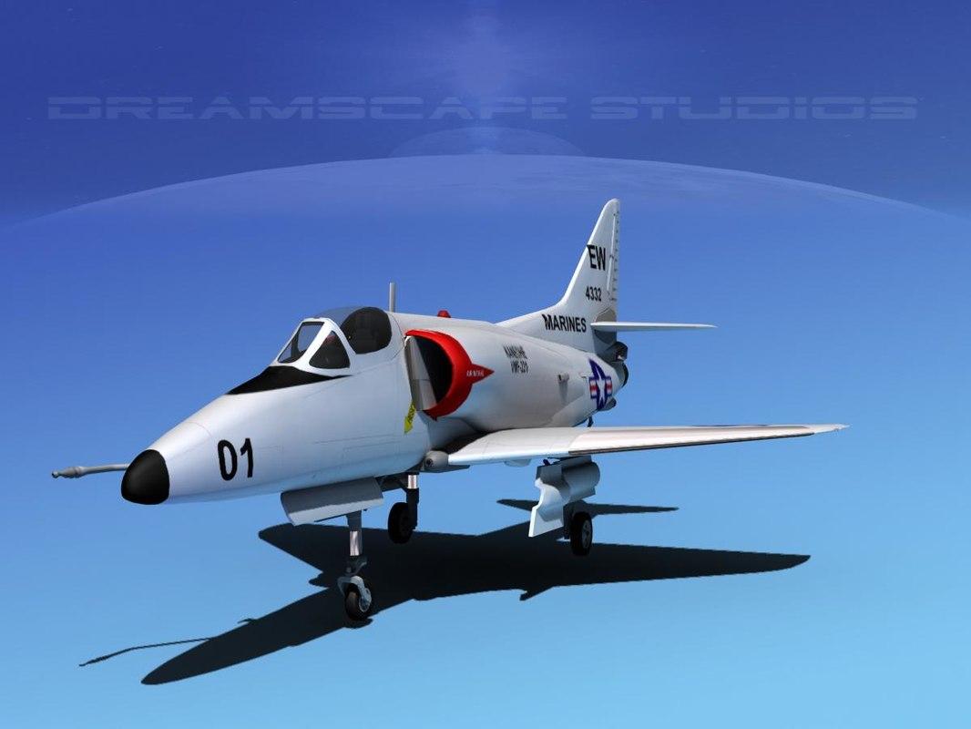 Douglas A-4D Skyhawk USMC