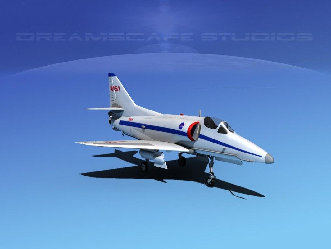 Douglas A-4D Skyhawk NASA