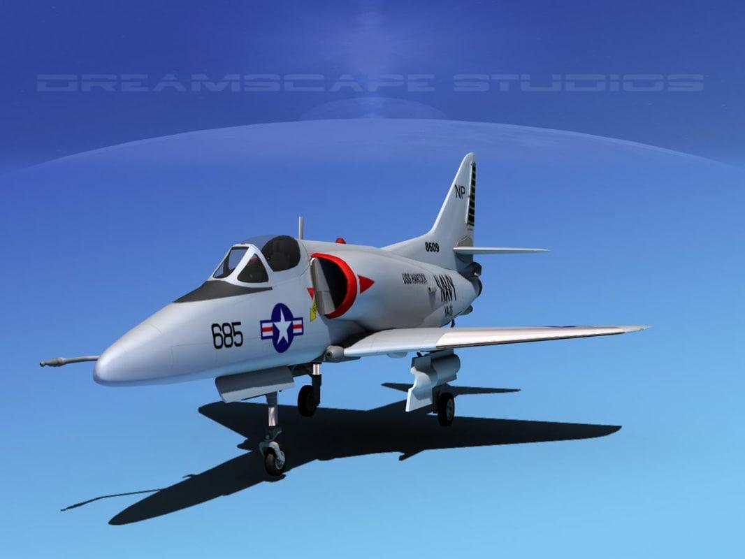 skyhawk douglas a 4 a 4d 3ds