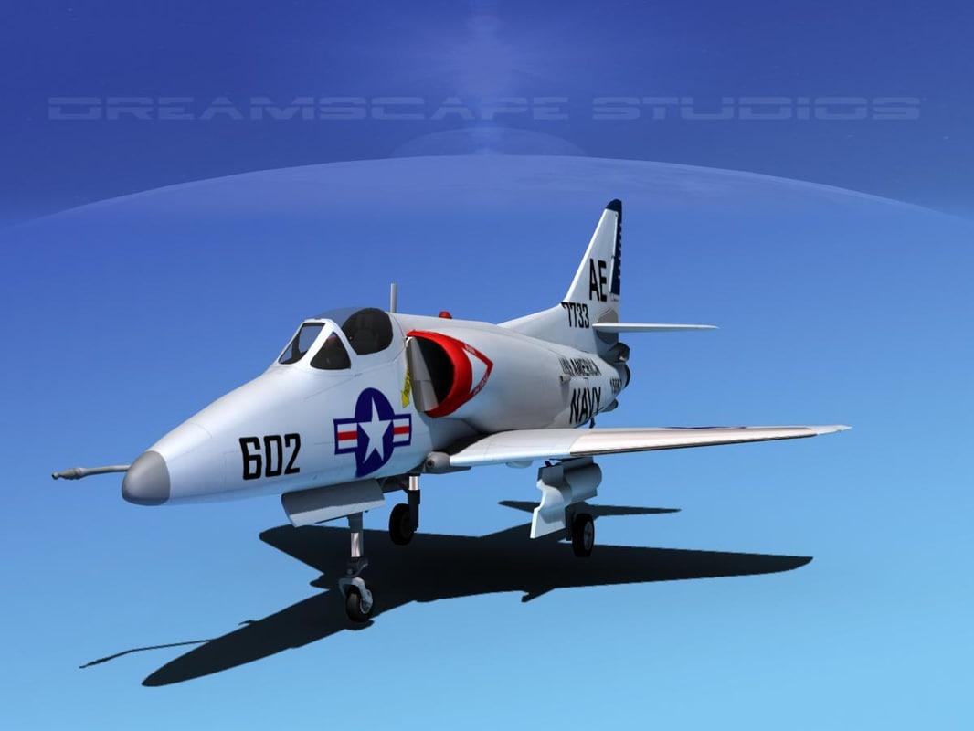 Douglas A-4D Skyhawk V05 USN