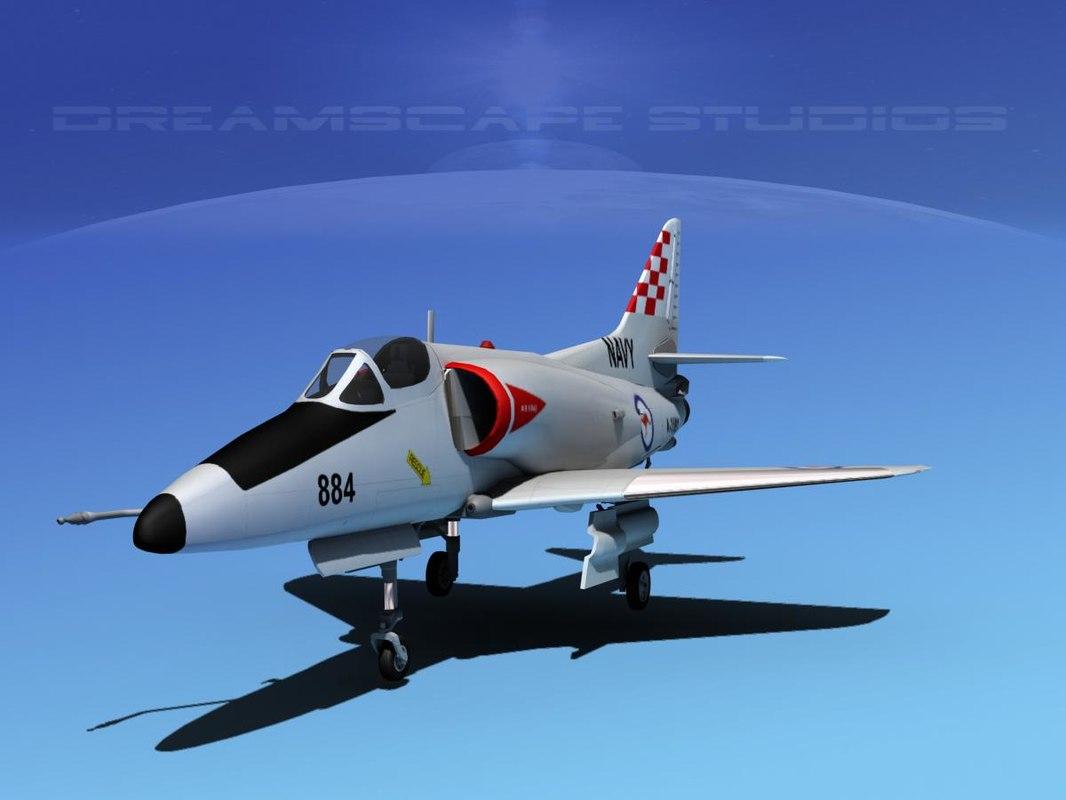 Douglas A-4D Skyhawk V08 RAN