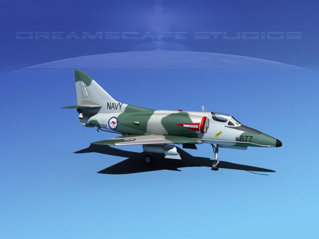 Douglas A-4D Skyhawk V10 RAN
