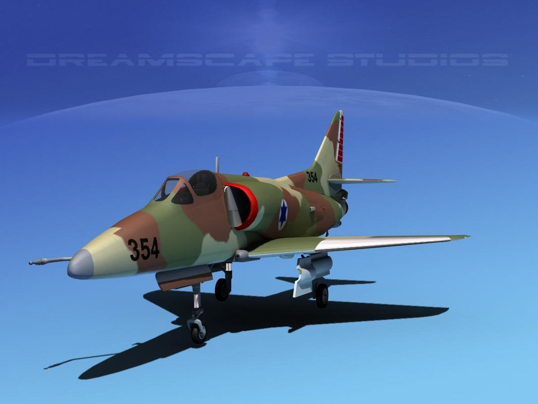 Douglas A-4D Skyhawk IADF