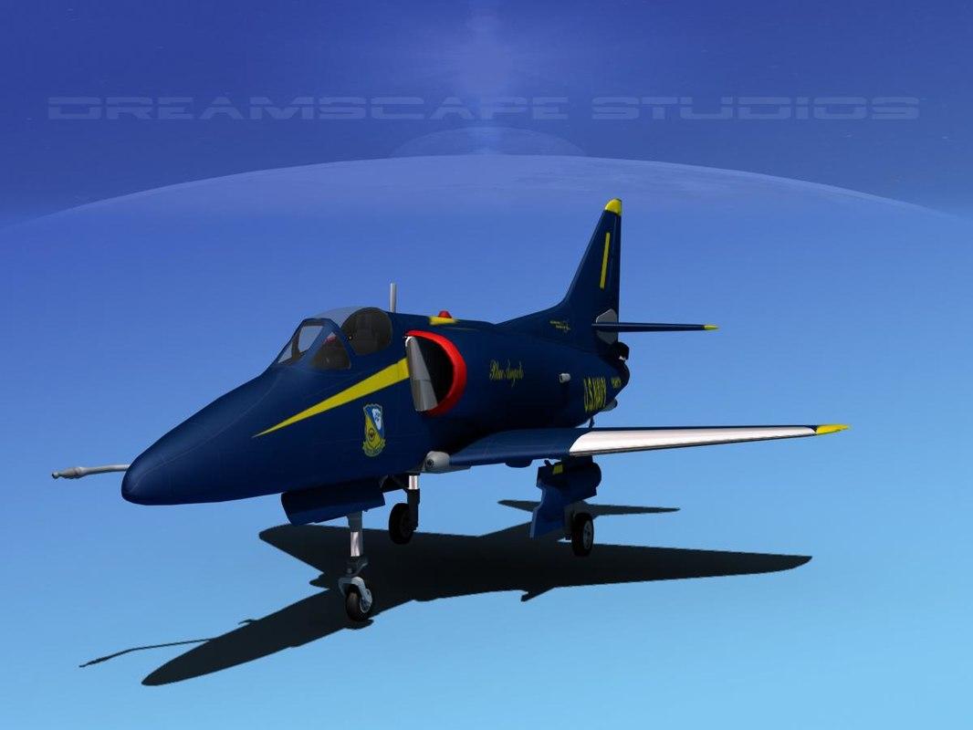 Douglas A-4D Skyhawk Blue Angel
