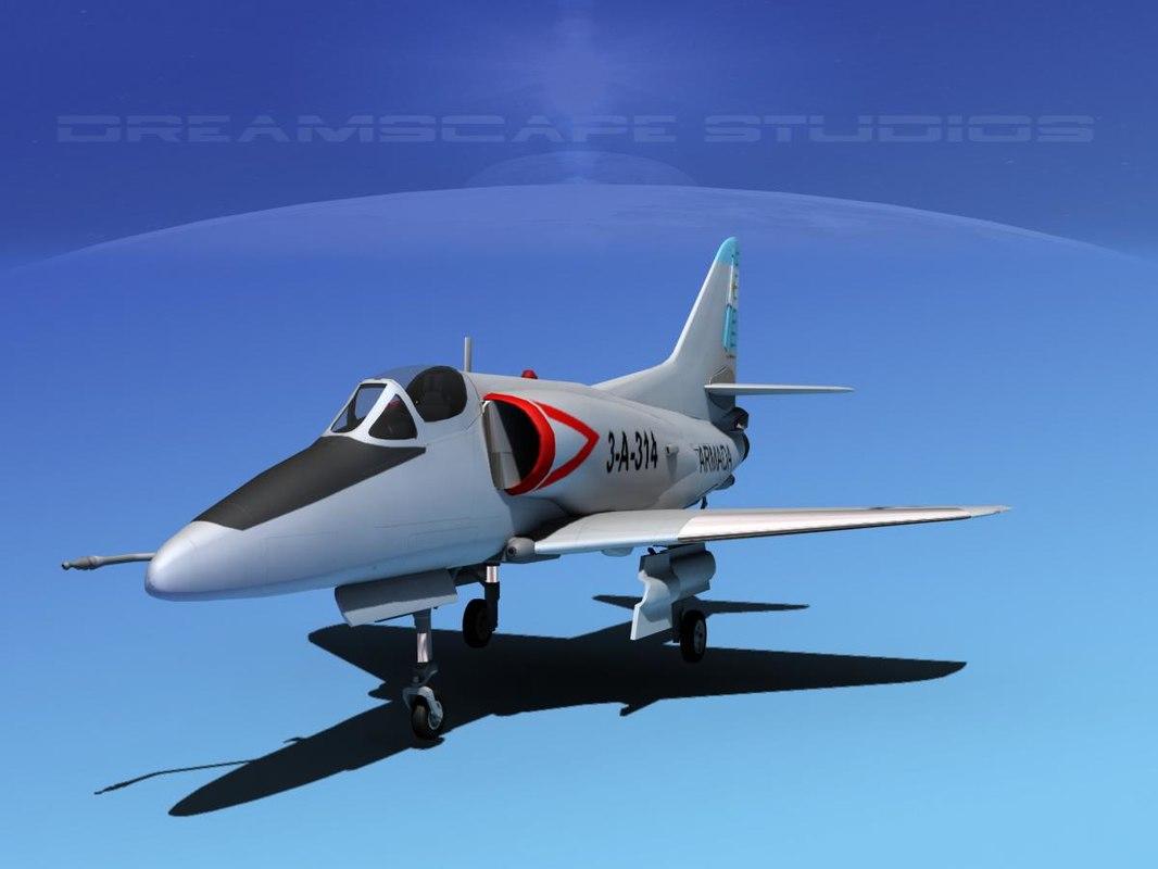 Douglas A-4D Skyhawk Argentina