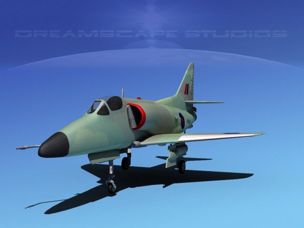 Douglas A-4D Skyhawk V15 RNZN