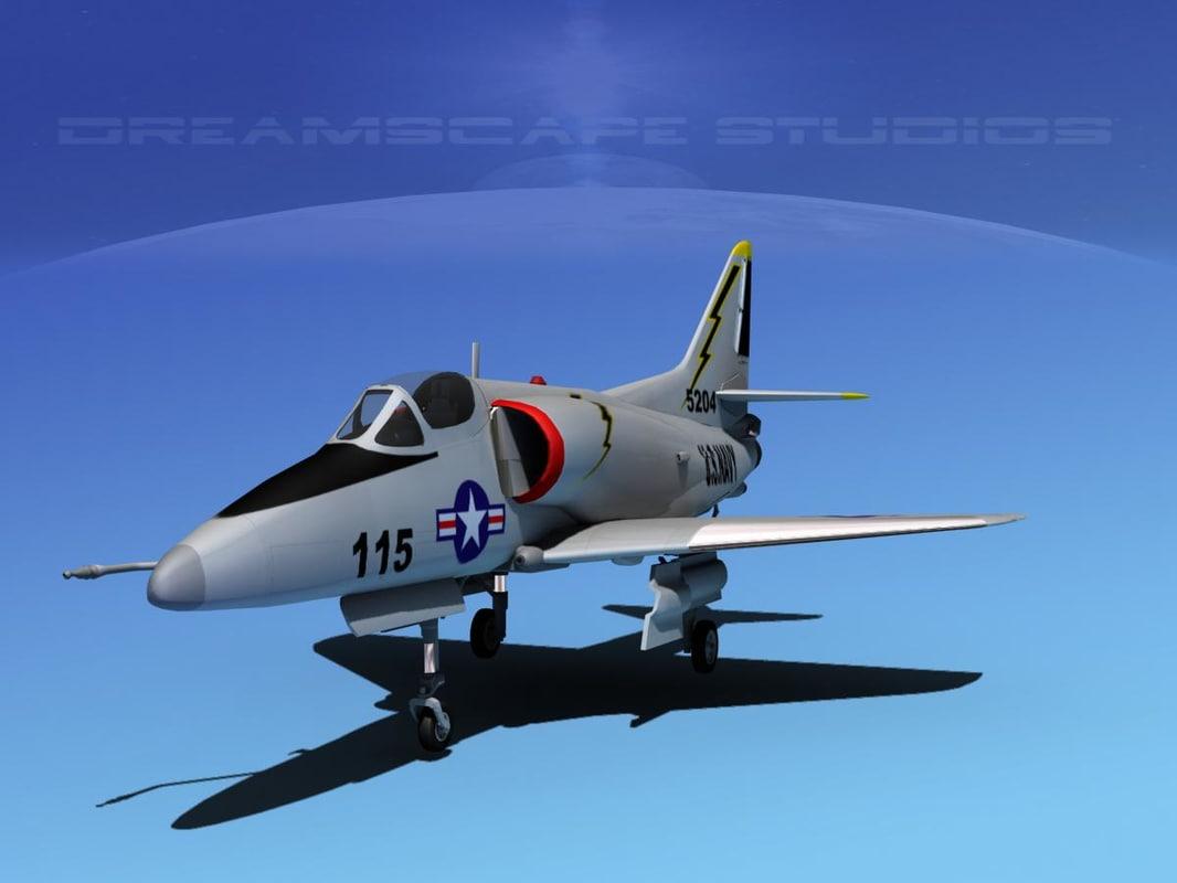 Douglas A-4D Skyhawk V20 USN