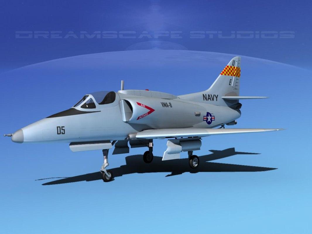 Douglas A-4G Skyhawk V01 USN