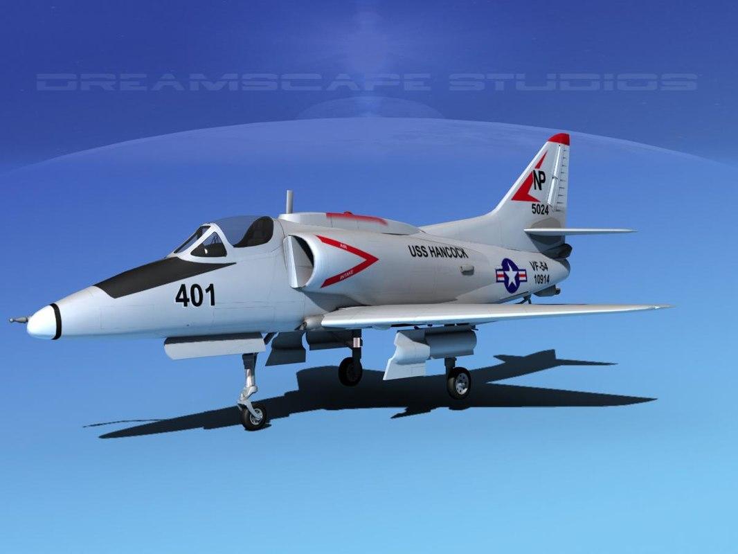 dwg skyhawk douglas a 4 a 4g