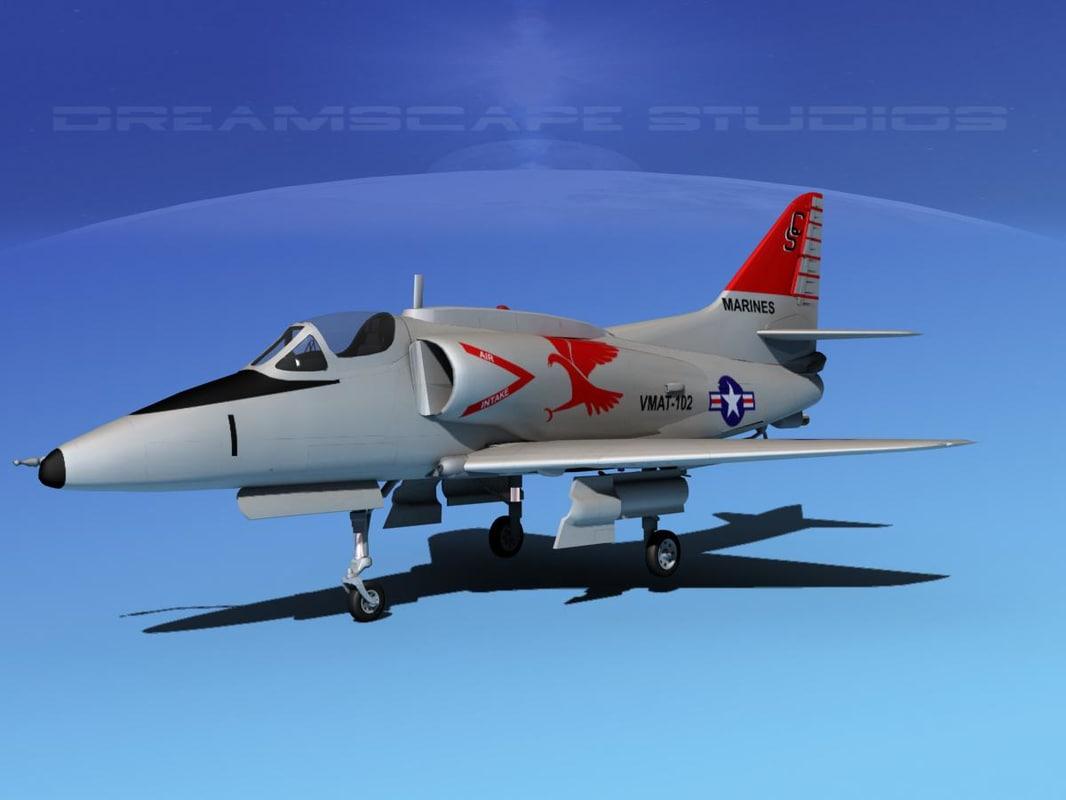 Douglas A-4G Skyhawk V04 USMC