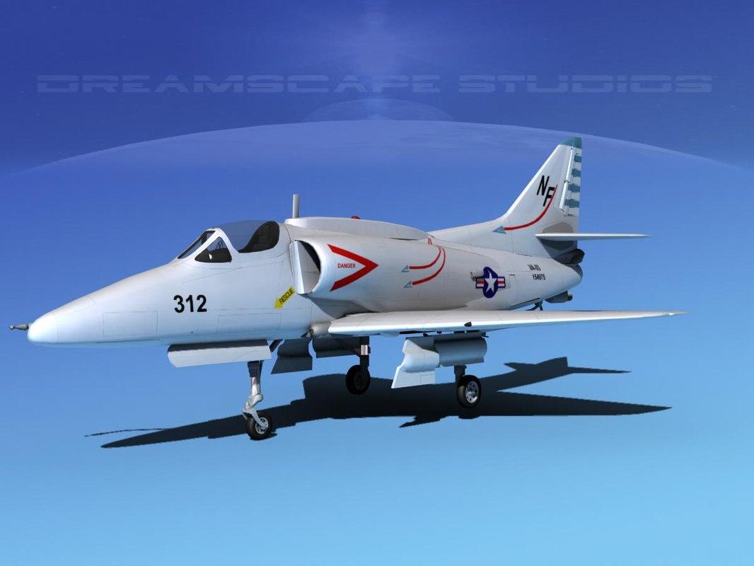 dxf skyhawk douglas a 4 a 4g