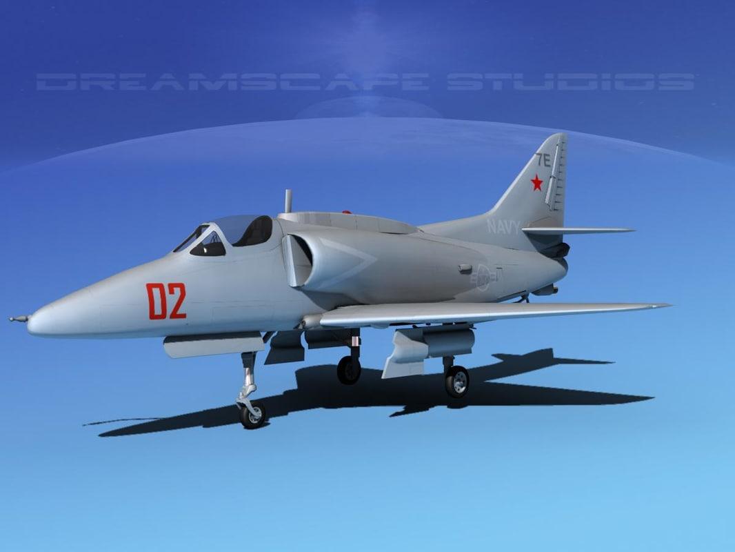 3d skyhawk douglas a 4 a 4g