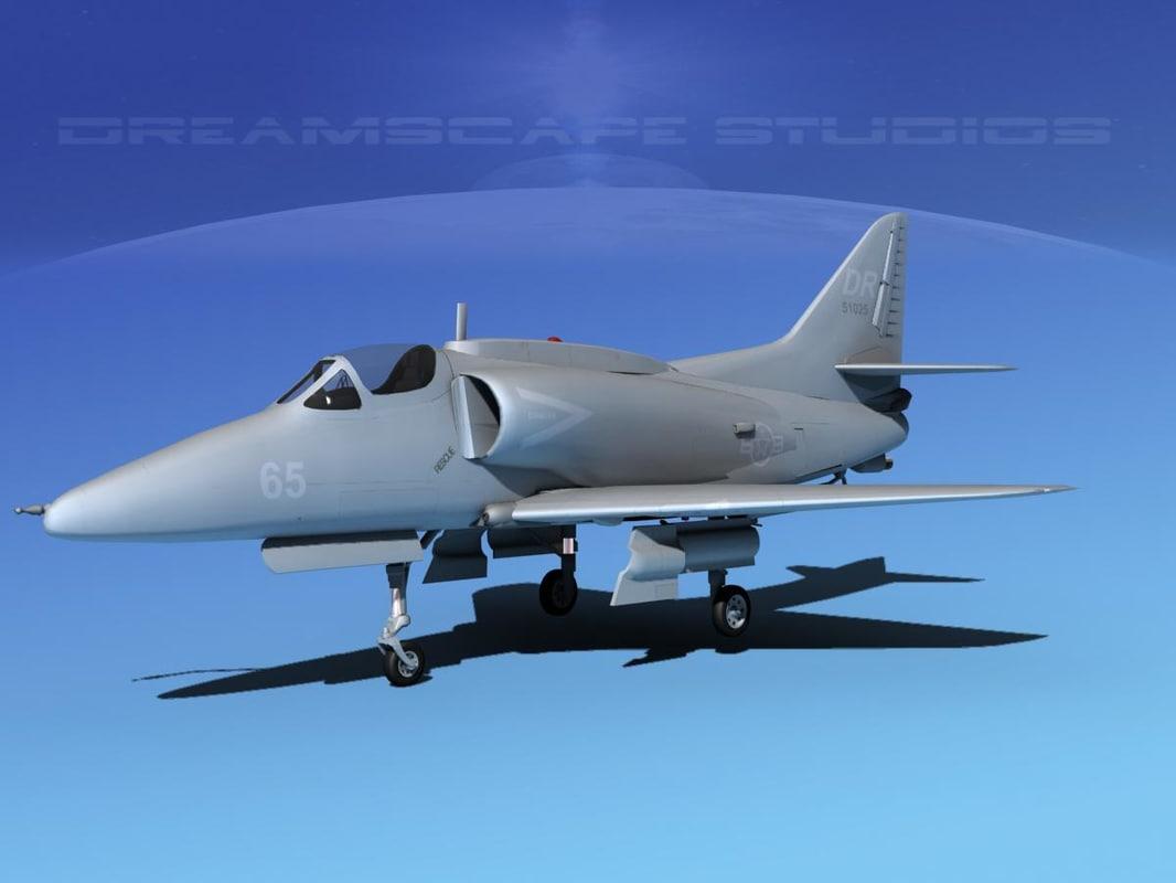 Douglas A-4G Skyhawk V07 USN Aggr