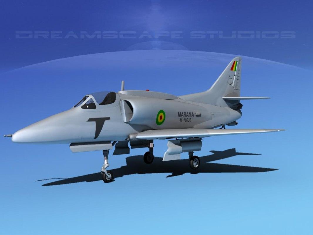 Douglas A-4G Skyhawk Bolivian