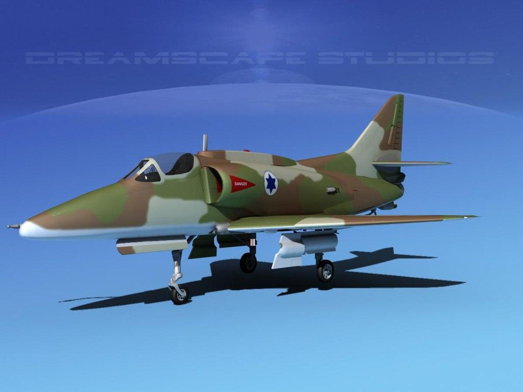 Douglas A-4G Skyhawk IADF