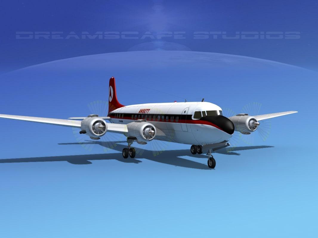 Douglas DC-6 Ansett0020.jpg