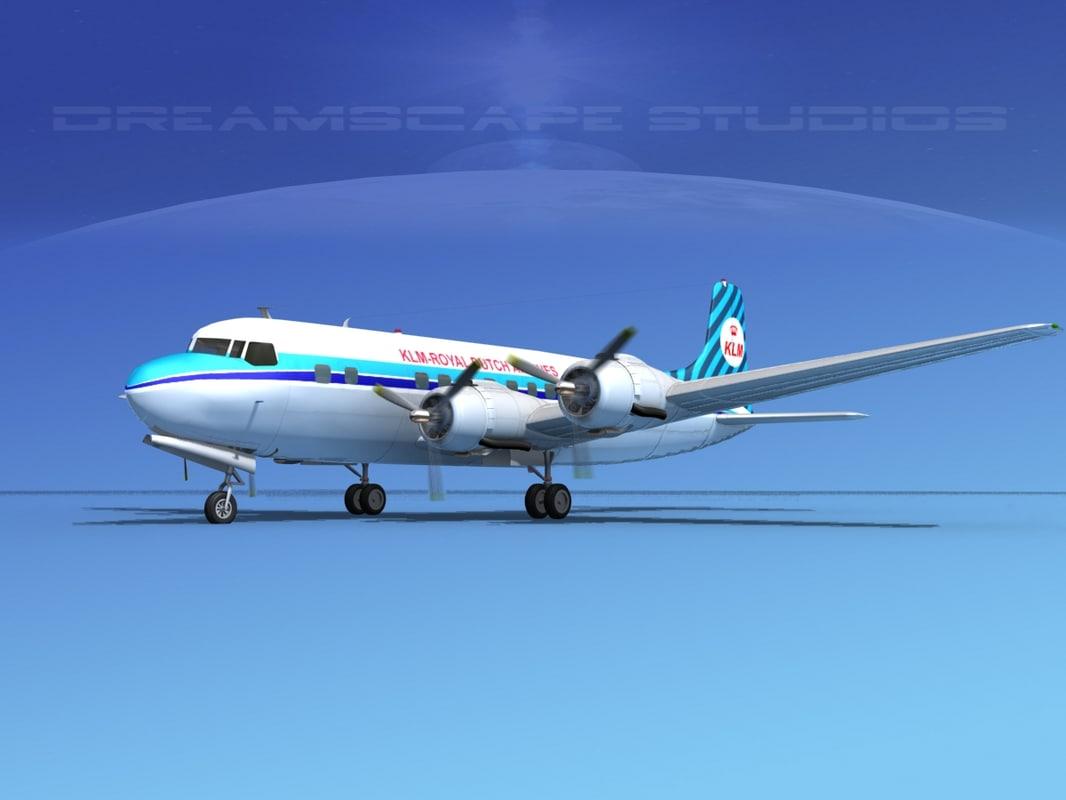 Douglas DC-6 KLM Royal Dutch0001.jpg