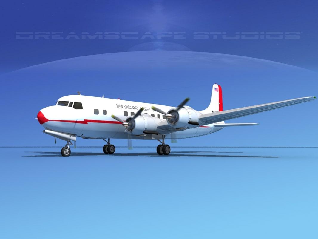 Douglas DC-6 New England Shuttle0001.jpg