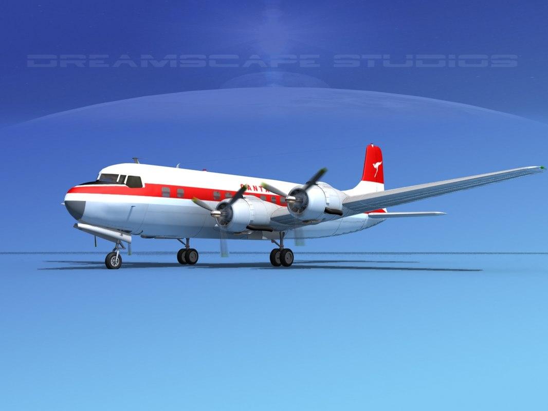 Douglas DC-6 Qantas0001.jpg