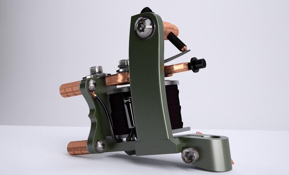 3dsmax tattoo machine