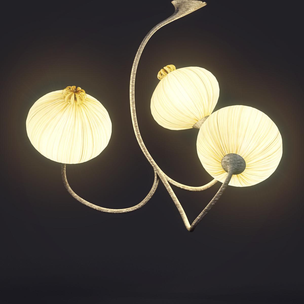 Aqua Creations 3Palm pendant light