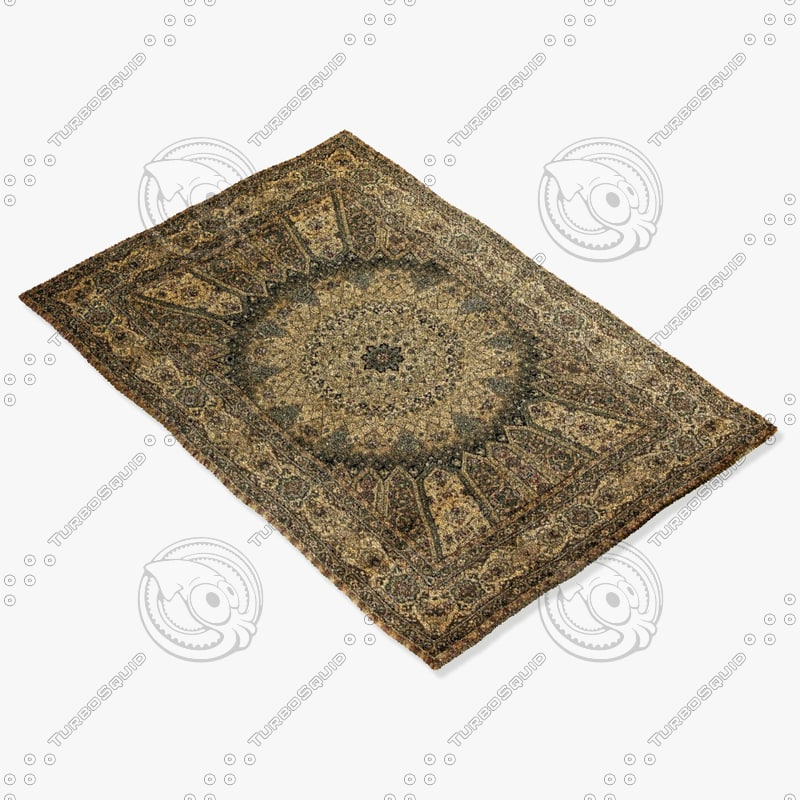 Ragotex Rugs 613172727 3d Model