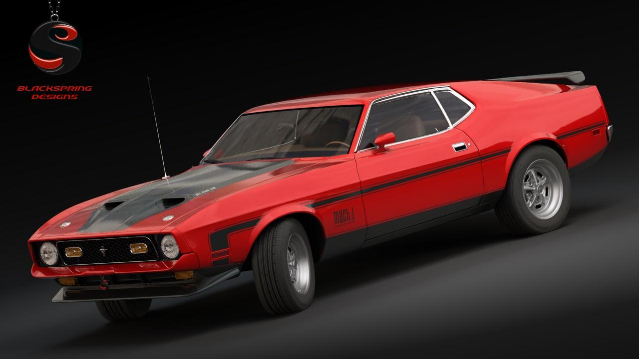 Max Mustang Mach 1 1971