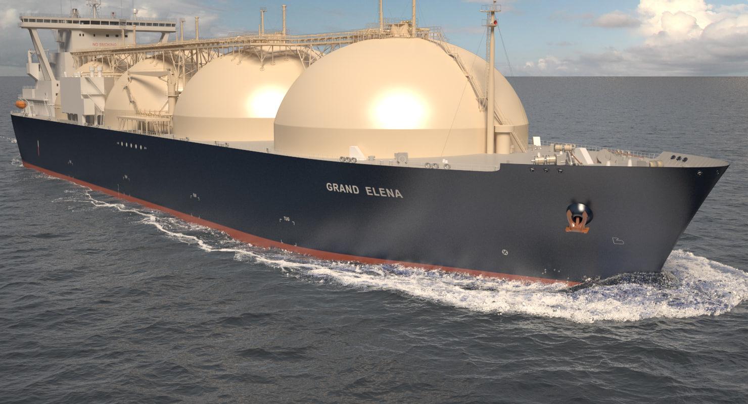 lng tanker ship grand max