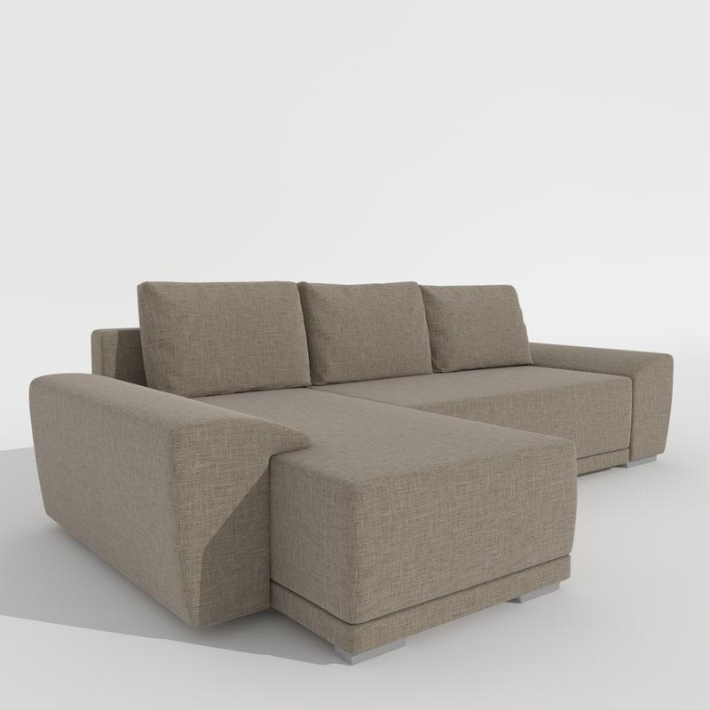3d sofa como